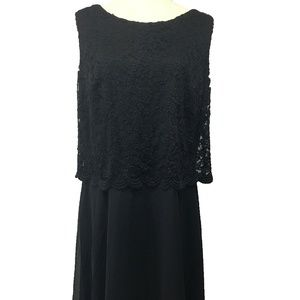 Connected Apparel Dress Lace Sheath Dress